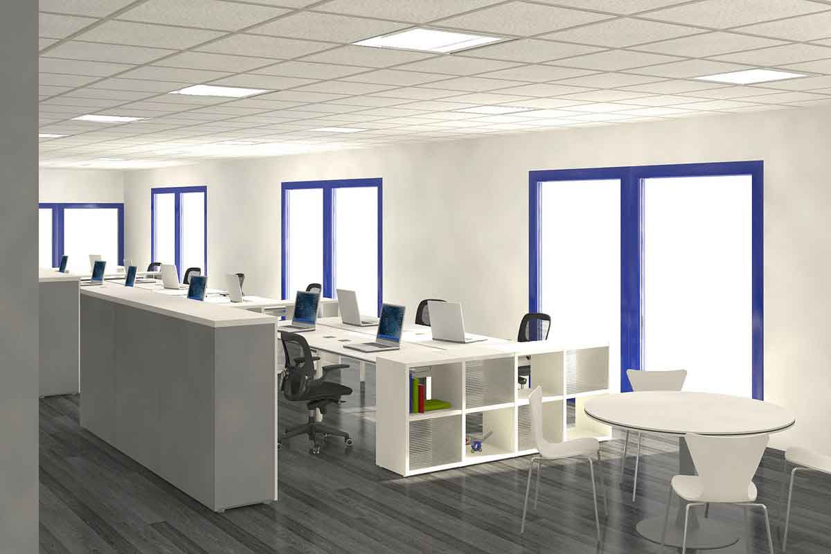 interior-office-and-workspace-white-minimalist-open-space-office-interior-and-furniture-design-with-blue-color-accent-and-parquet-floor-modern-minimalist-designing-an-office-spac